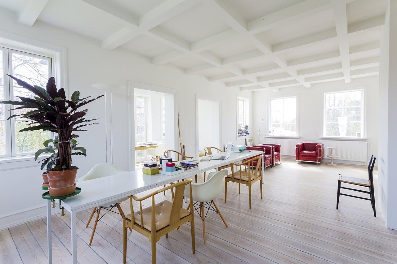 murermestervilla ombygning tilbygning danske boligarkitekter stue