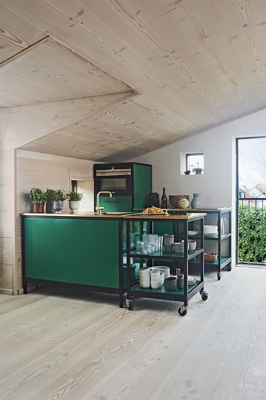køkken nordic nordisk stil personligt