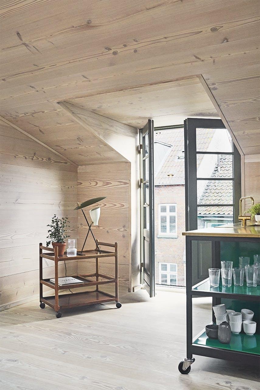 køkken nordic nordisk stil udsigt aarhus