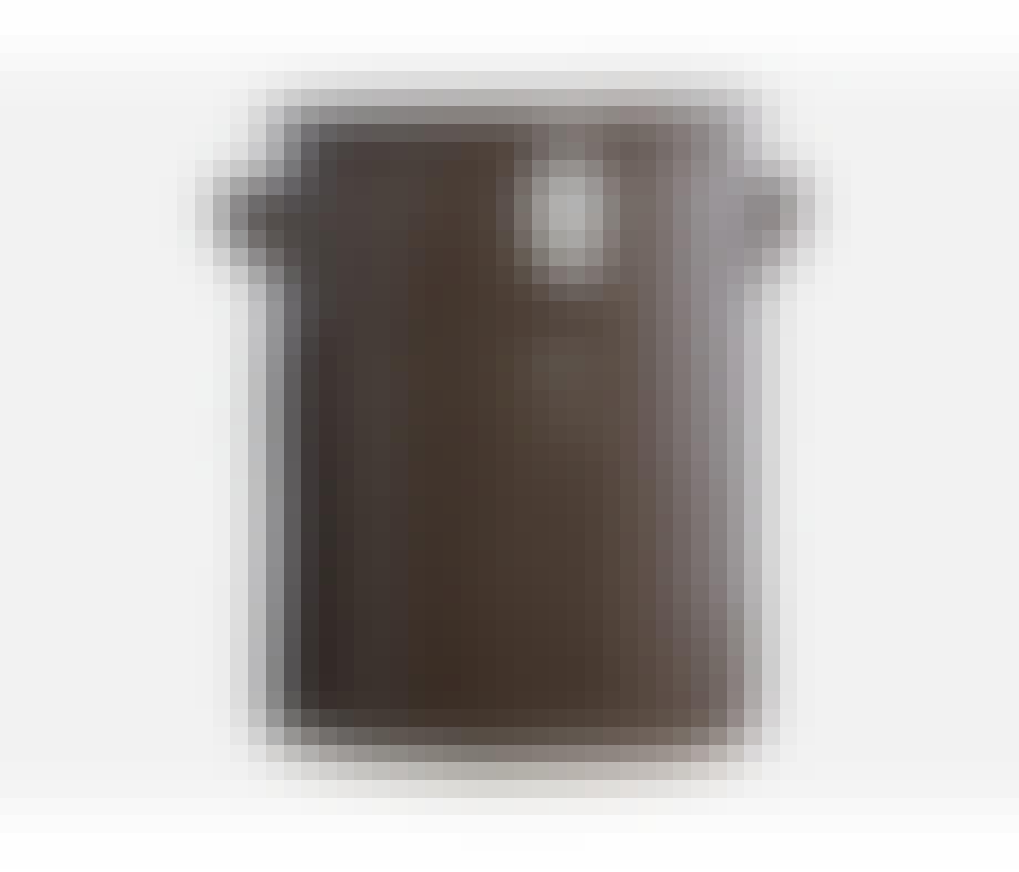 House Doctor krukke i ler i en mørk brun farve