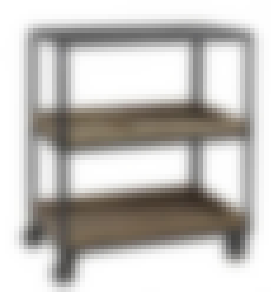 Nordal rullebord i jern og træ
