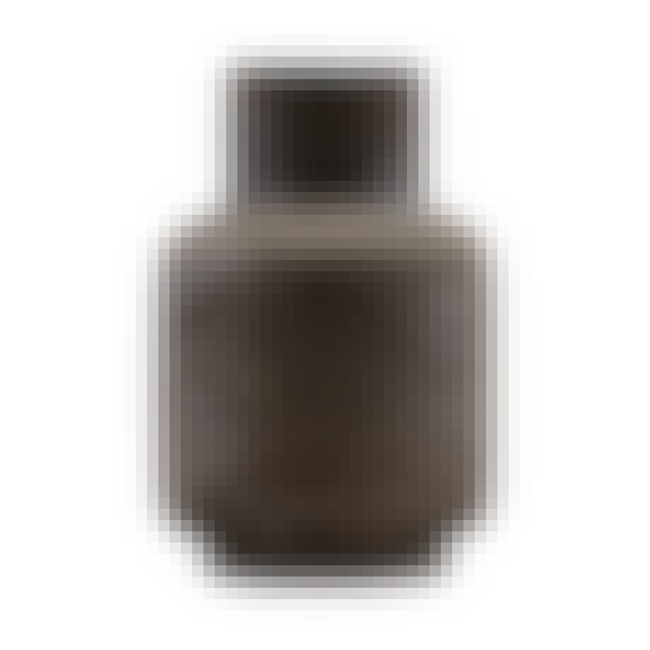 House Doctor vase i sortnistret materiale