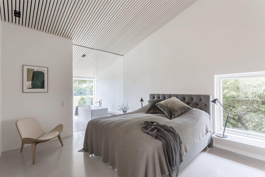 danske boligarkitekter arkitektur ombygning soveværelse