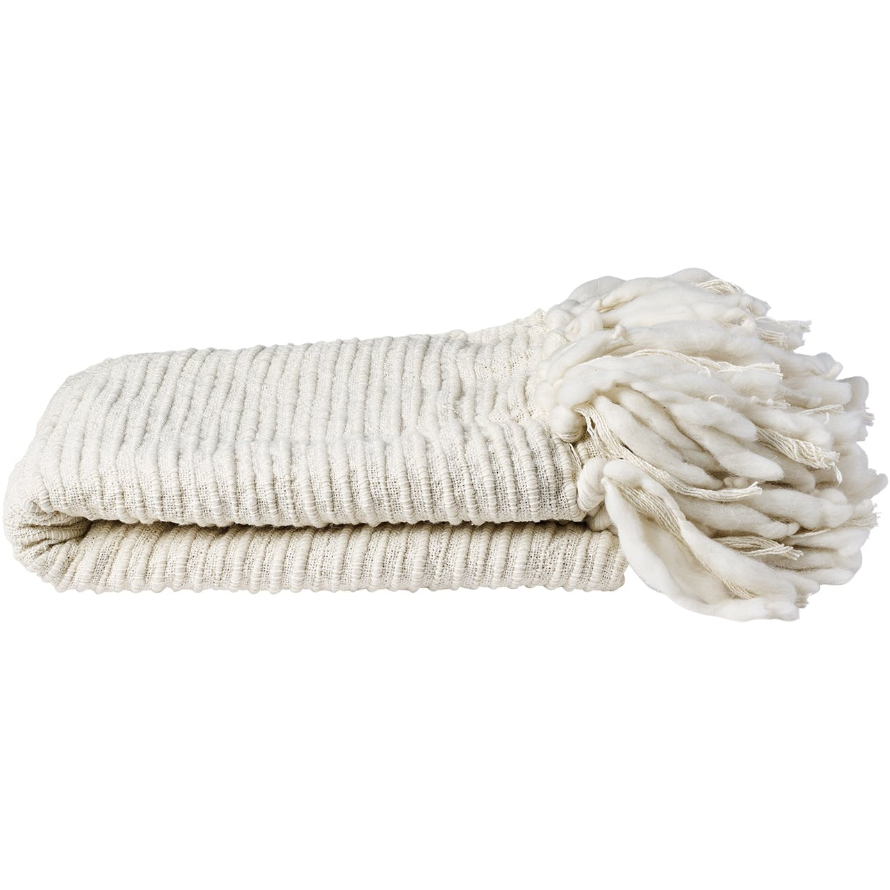 Bolia plaid i uld og bomuld