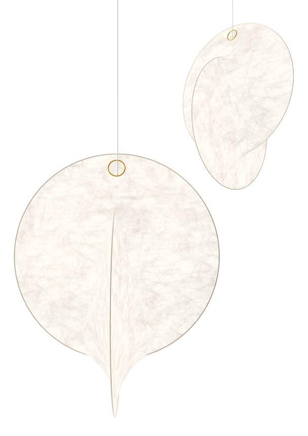 hvide lamper fra Michael Anastassiades