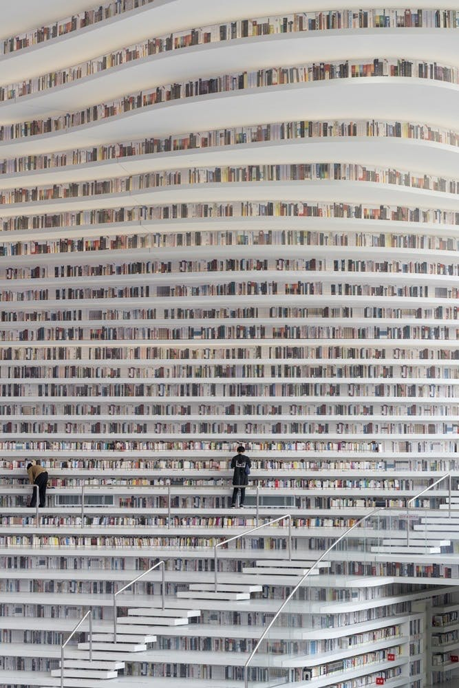 bibliotek kina arkitektur struktur bøger design struktur