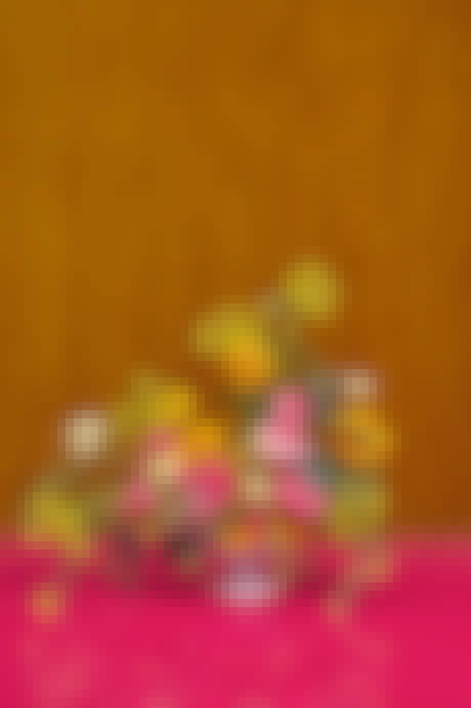 farverig buket fra bogen blomst af uffe buchard