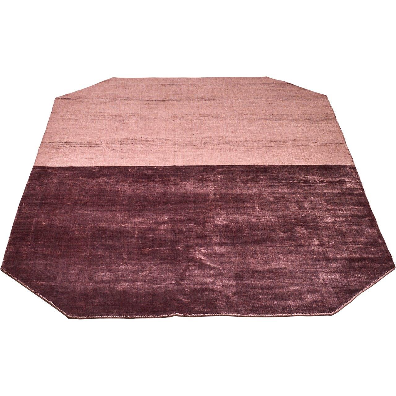 Bolia tæppe i to farver af rosa
