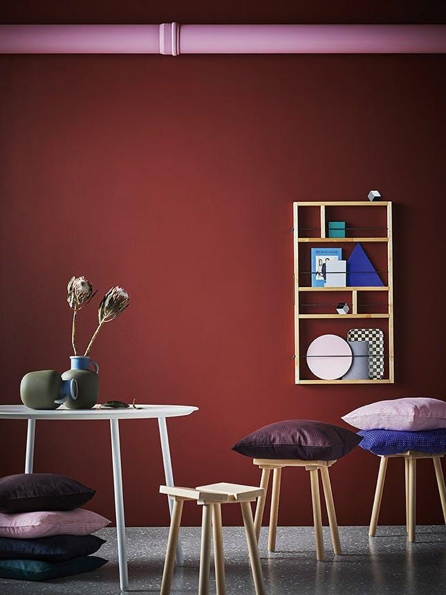 Ikeas ypperlig kollektion i røde farver