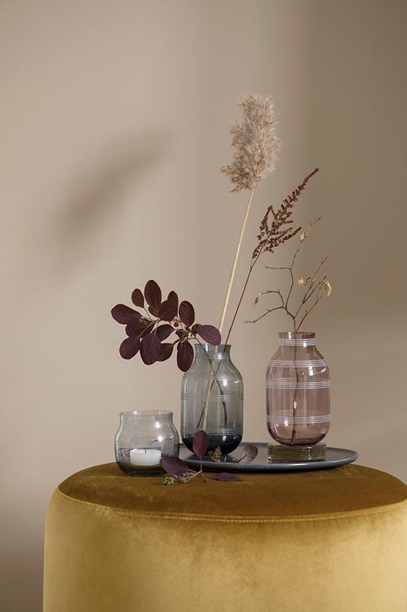 Kähler omaggio vaser i jordfarver