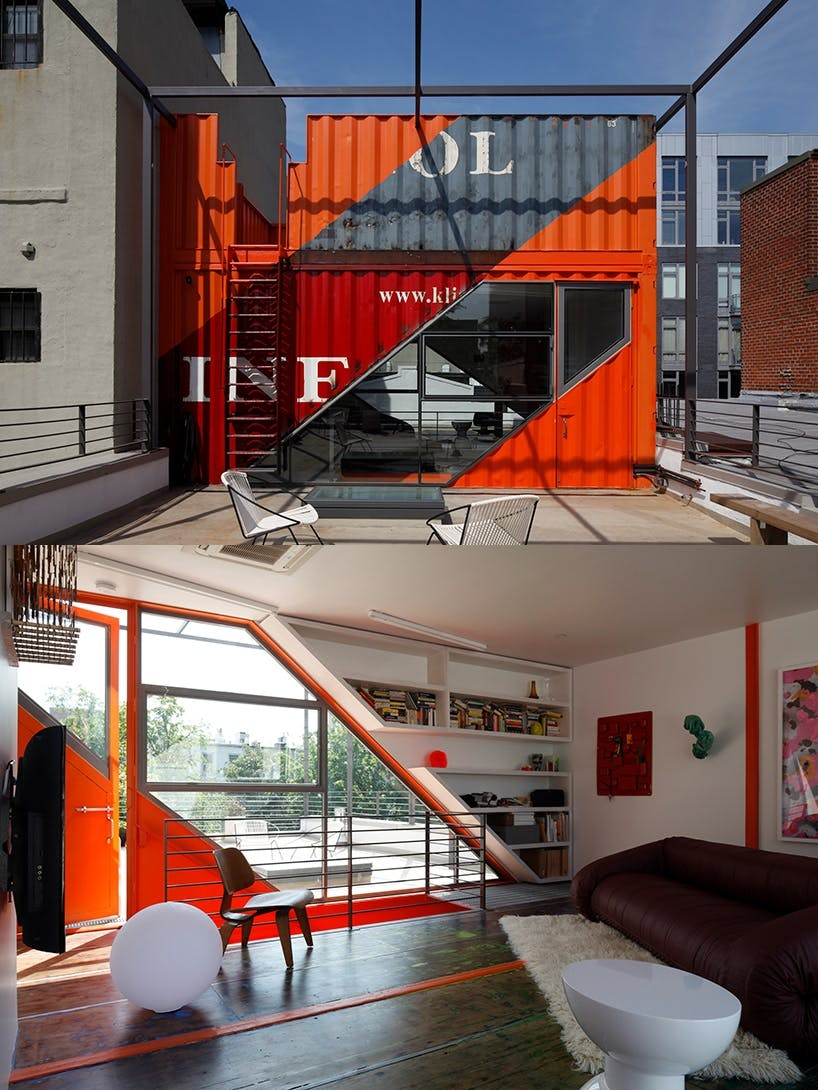 Container penthouse