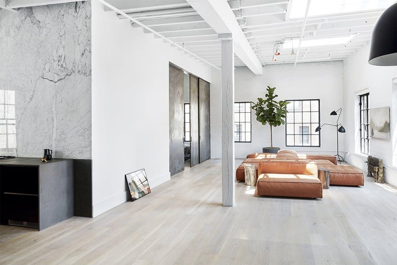 new yorker lejlighed indretning stue