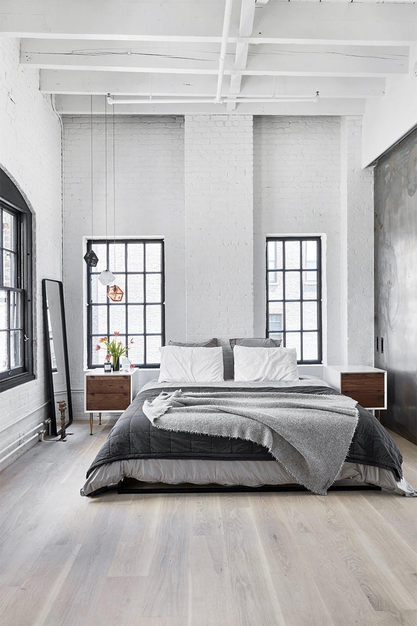 new yorker lejlighed indretning soveværelse
