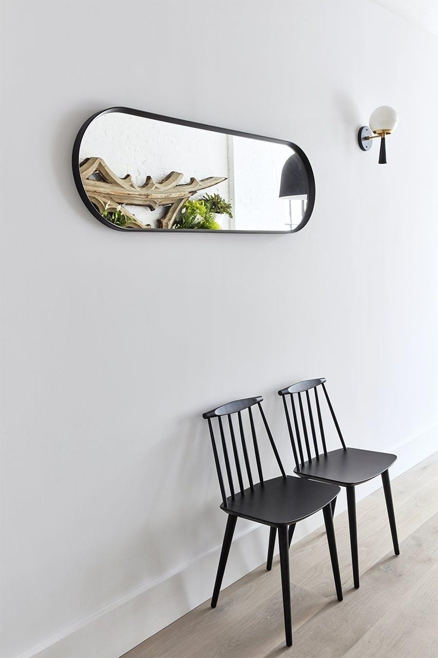 new yorker lejlighed indretning stole spejl