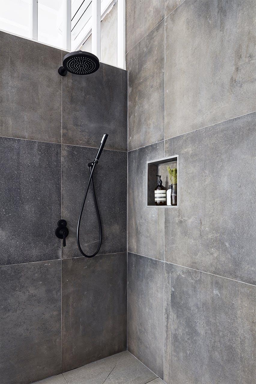 new yorker lejlighed indretning badeværelse bruser