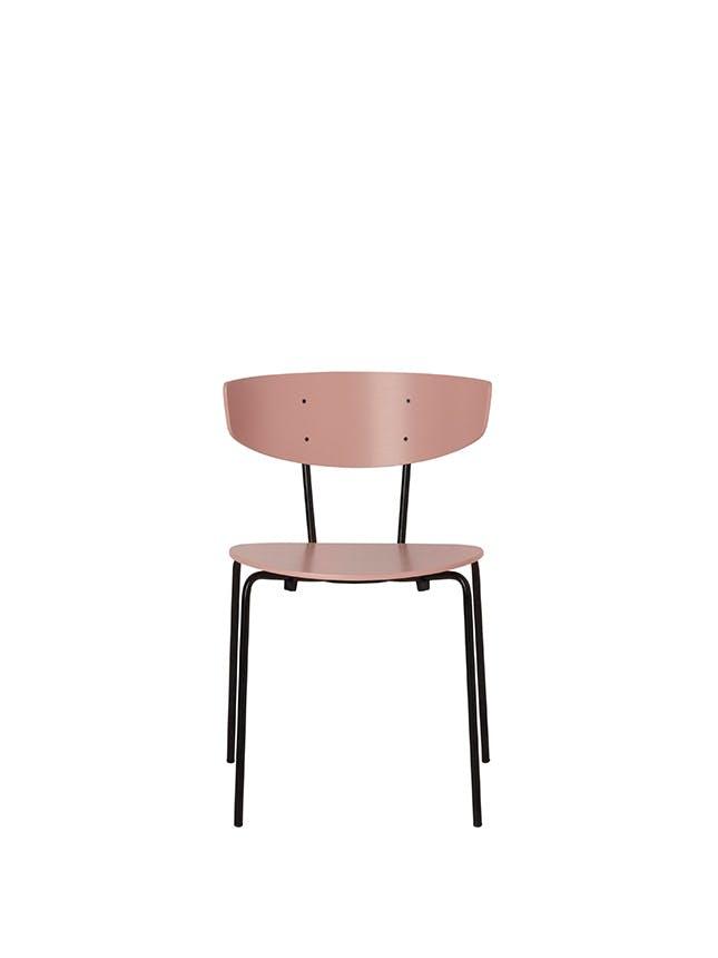 Ferm Living lyserød stol
