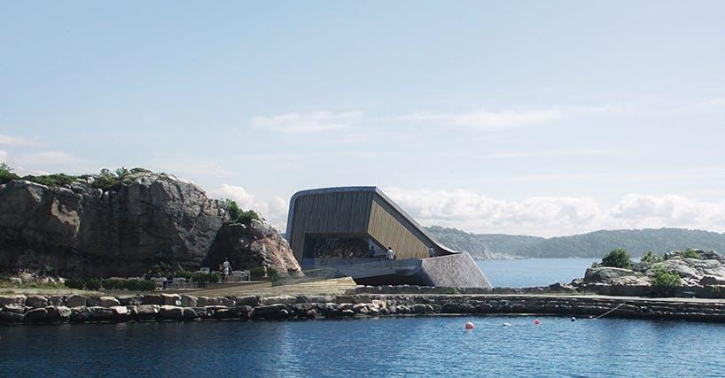 restaurant under vand arkitektur norge