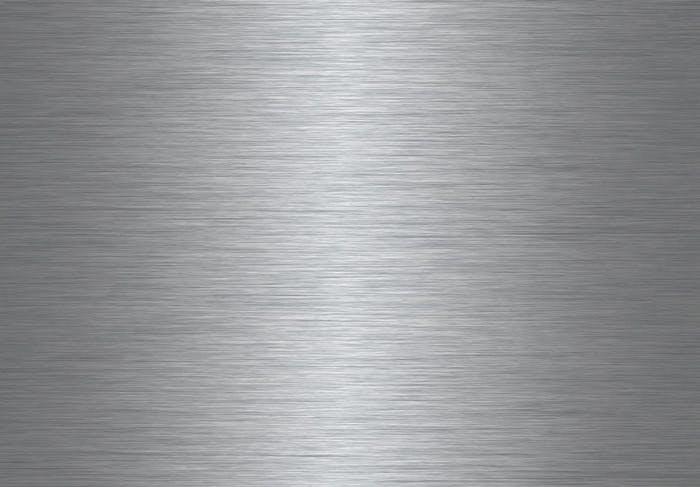 Bordplade i rustfri stål