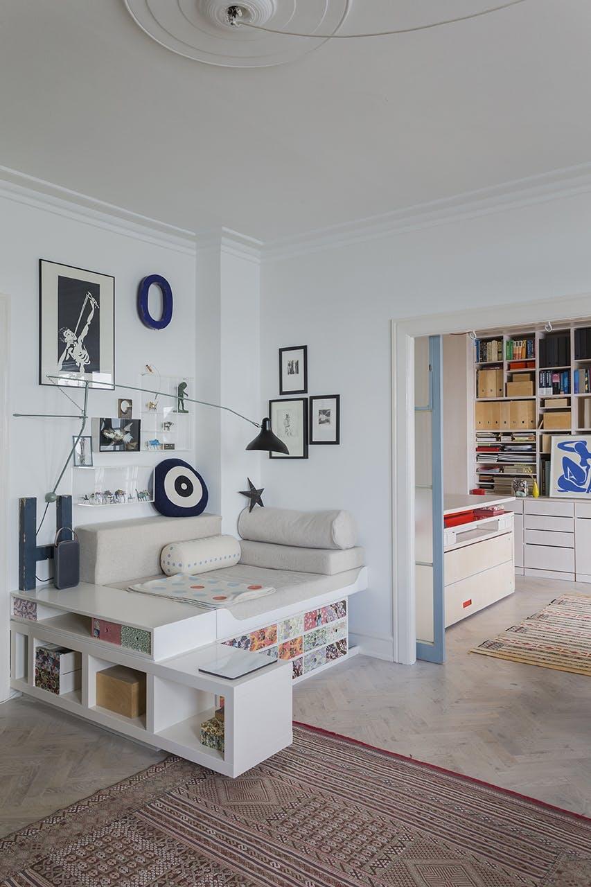 danske boligarkitekter small living hjemmelavet sofa