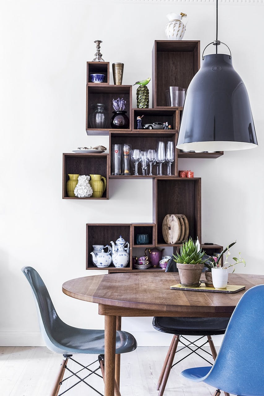 smart hjem snedker opbevaring stole spisebord