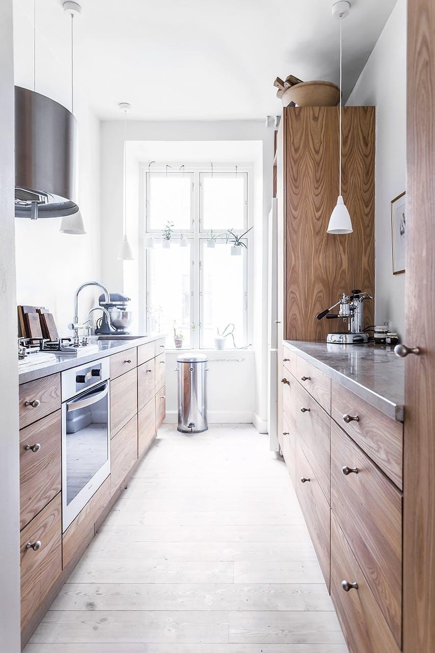 smart hjem snedker opbevaring køkken