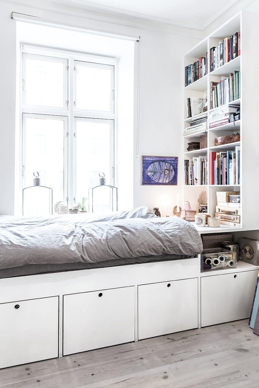smart hjem snedker opbevaring seng sengeskuffer