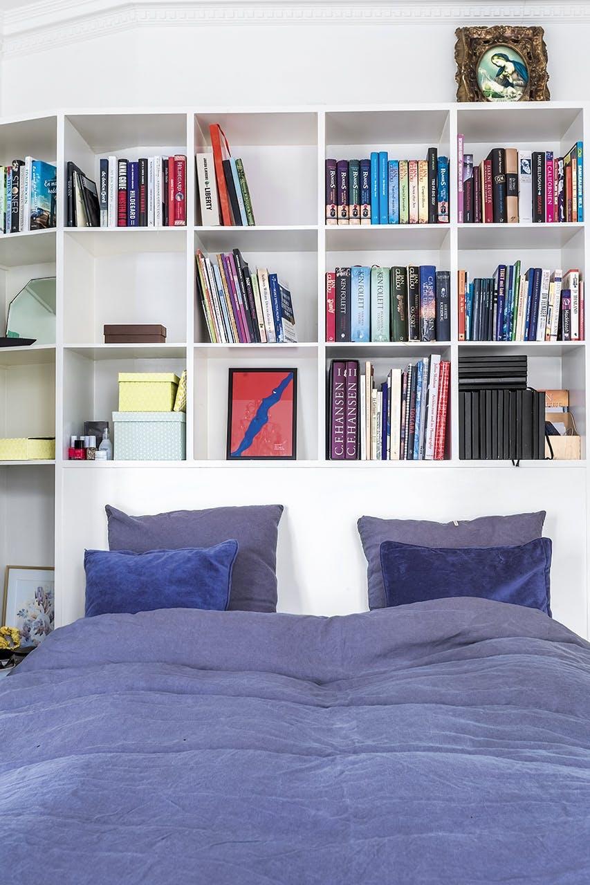 smart hjem snedker opbevaring bogreol seng værelse