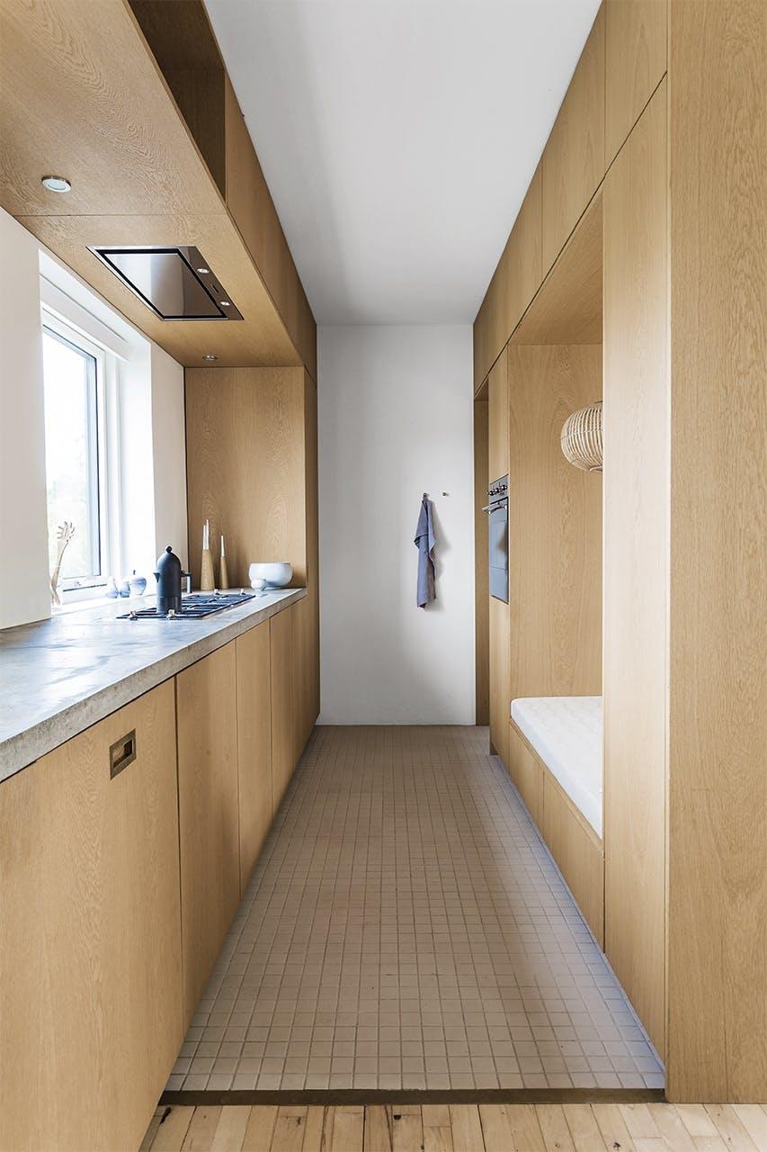 smart hjem compact living køkken