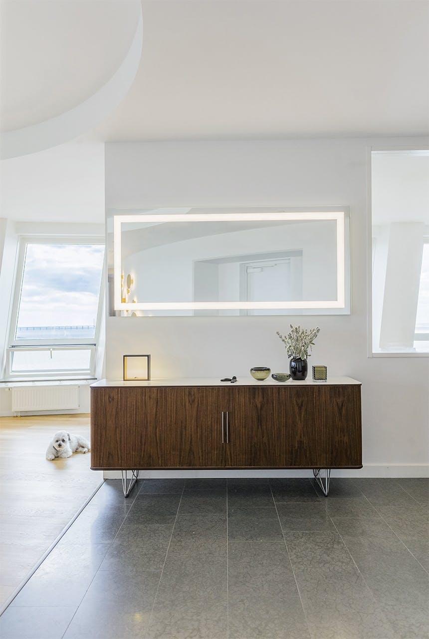 lejlighed indretning eksklusivt badeværelse