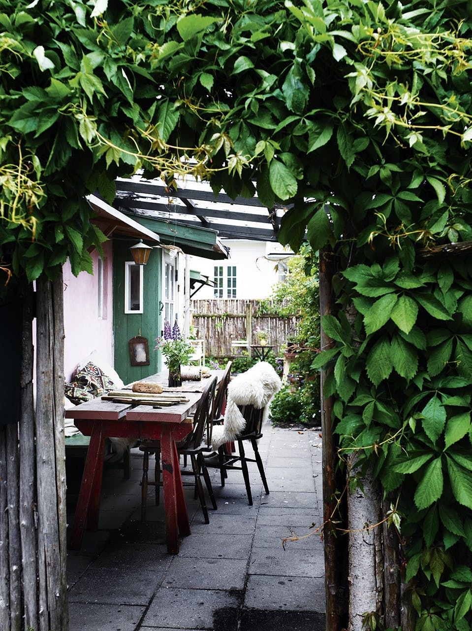 tisvilde sommerhus hygge terrasse
