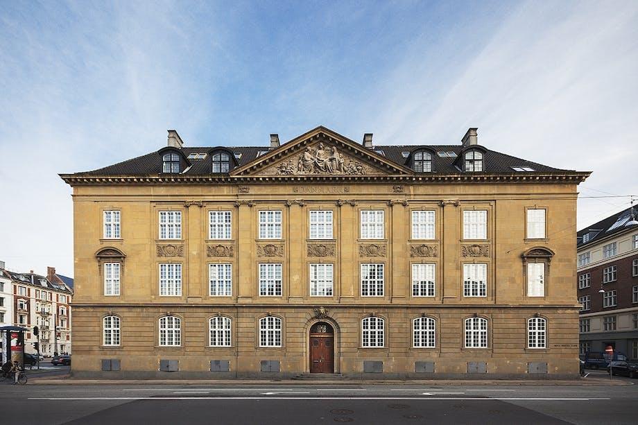 Nobis Hotel Copenhagens facade på niels brocks gade