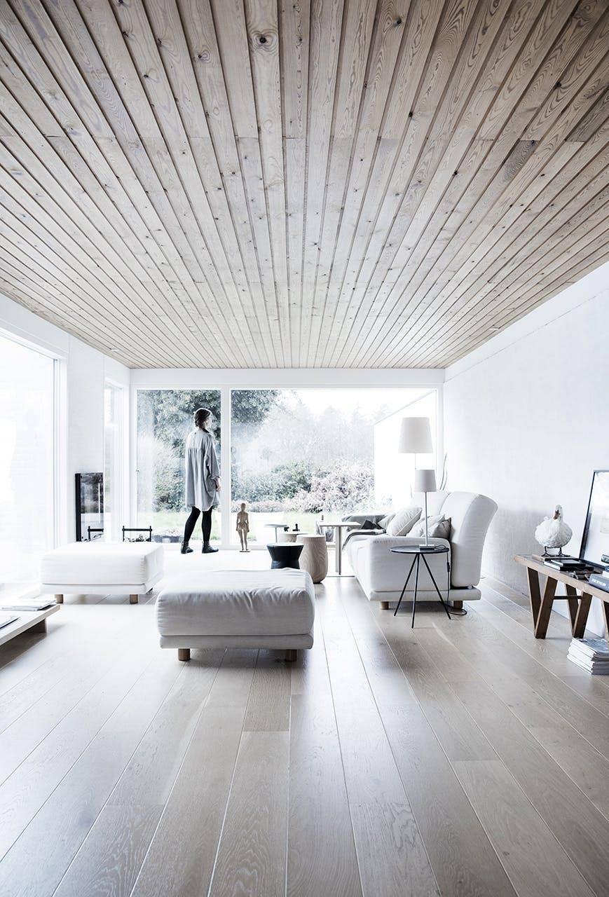 arkitekttegnede huse inspiration stue lys