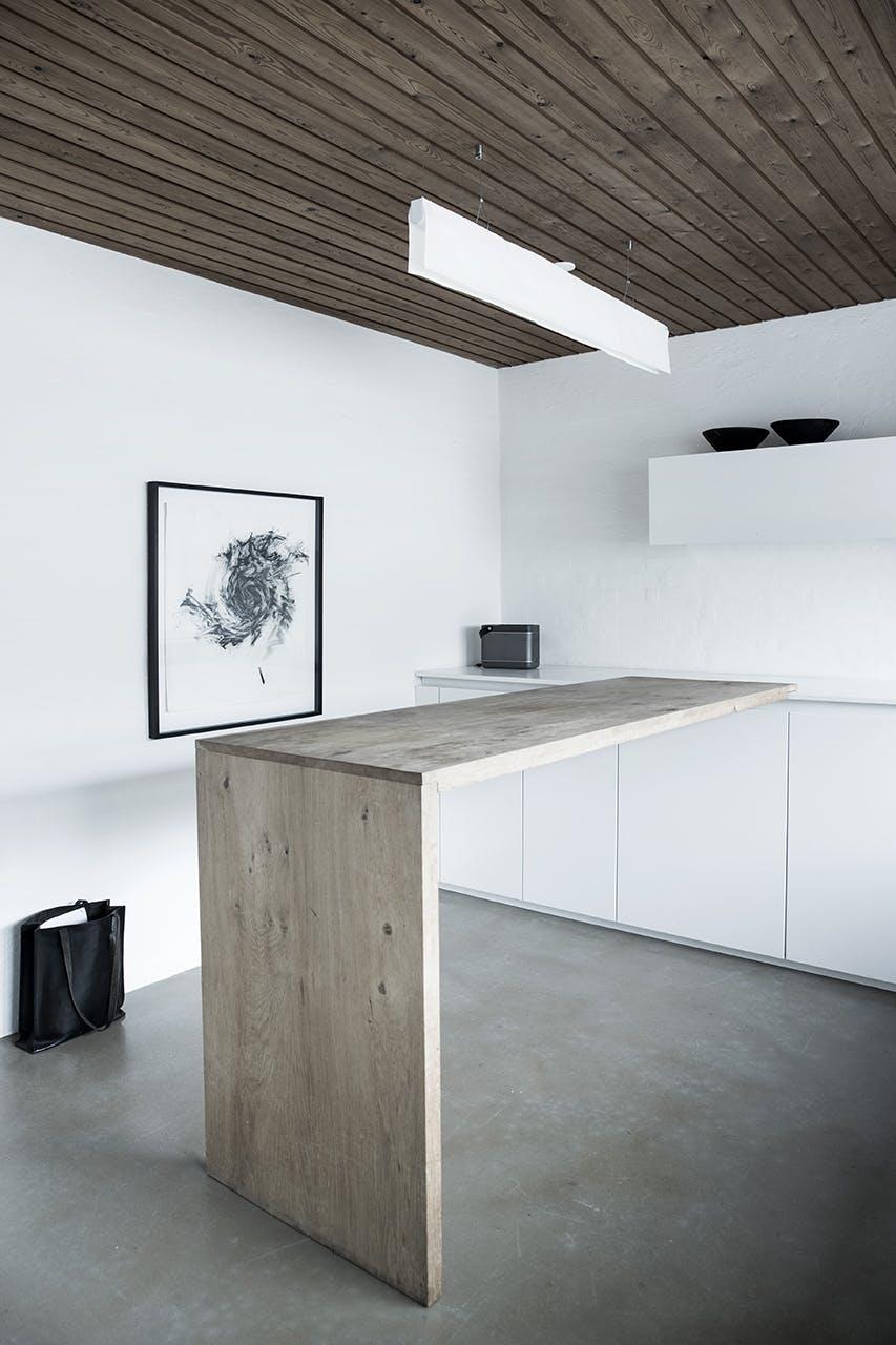 arkitekttegnede huse inspiration køkken