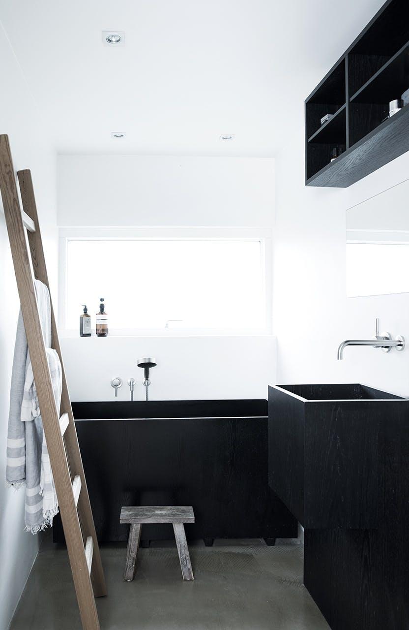 arkitekttegnede huse inspiration badeværelse badekar