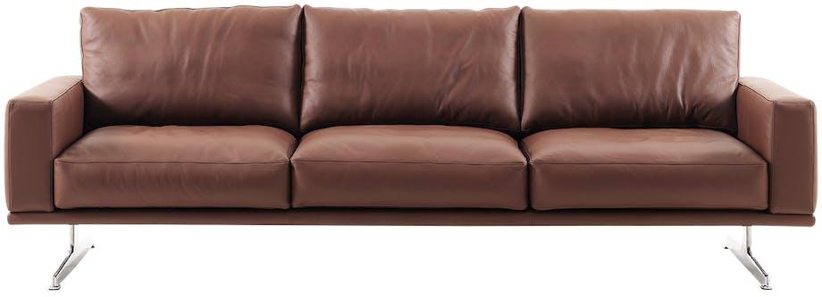 BoConcept carlton-sofa i brunt læder