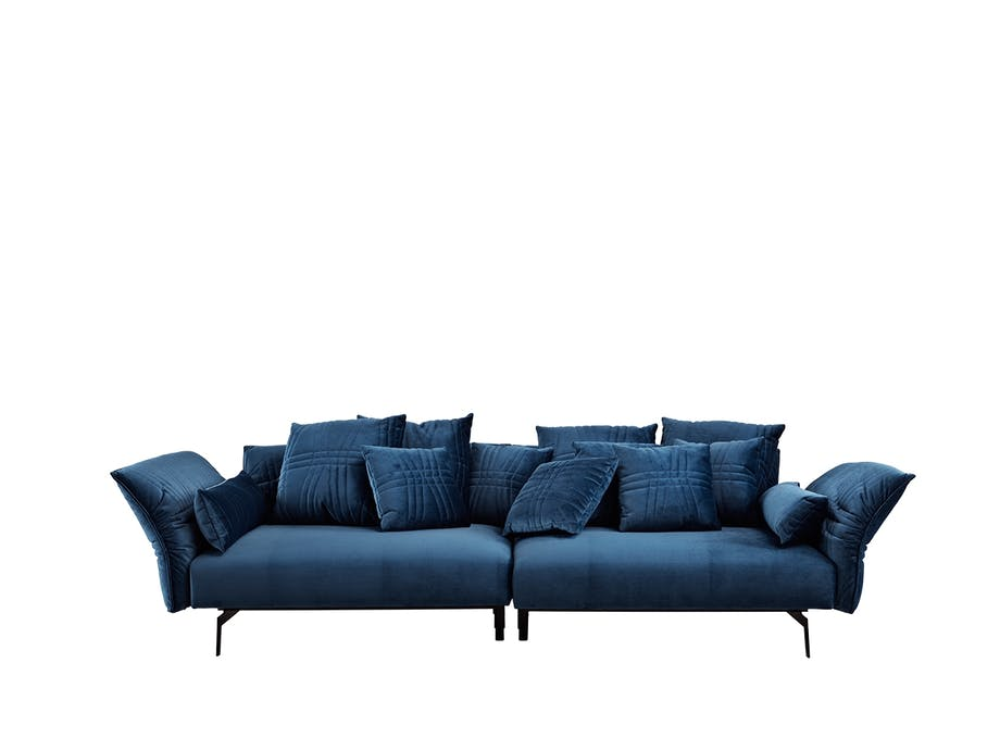 Bolia plia sofa i blå