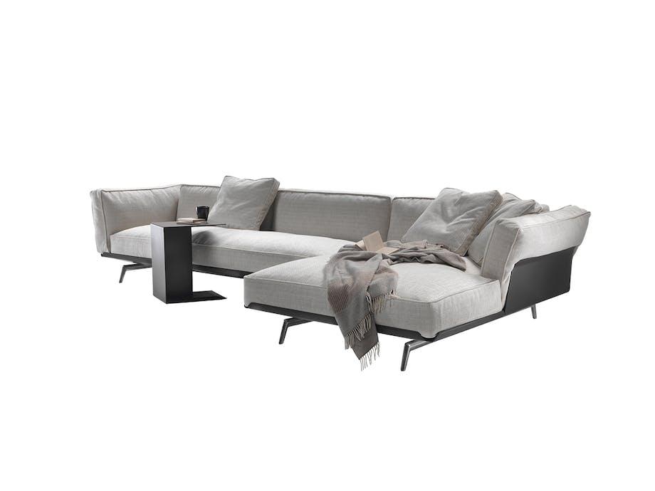 CasaShop este-sofa i grå