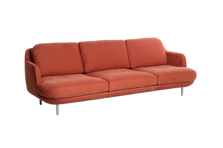 Fritz Hansen lune sofa i rød