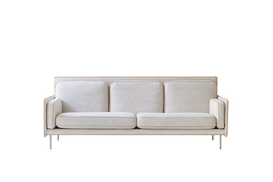 Erik Jørgensen hector-sofa i hvid
