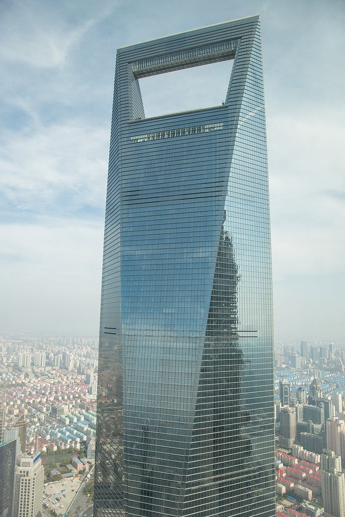 10: Shanghai World Financial Center – 494,3 m.