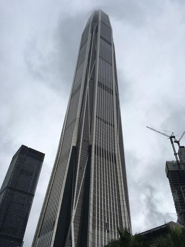 4: Ping An Finance Centre – 599 m.