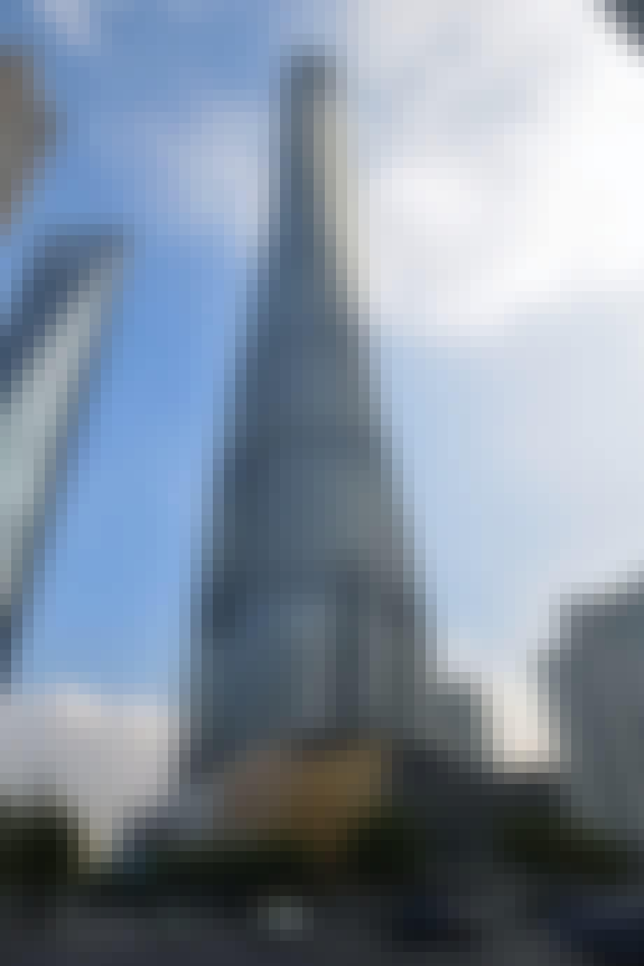 2: Shanghai Tower – 632 m.
