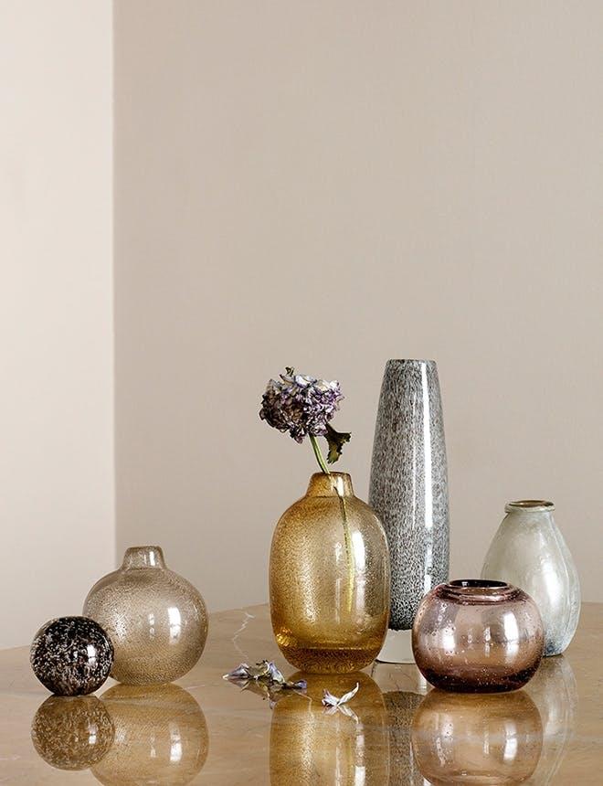 Broste Copenhagen vaser i gule nuancer