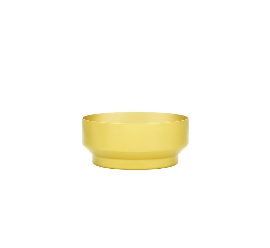 Normann Copenhagen meta skål i gul