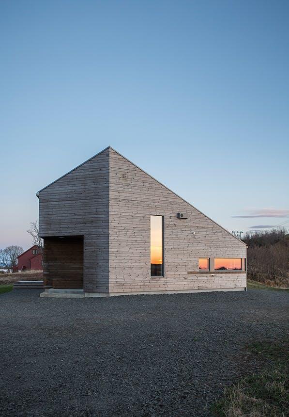 norsk feriehus i norsk natur
