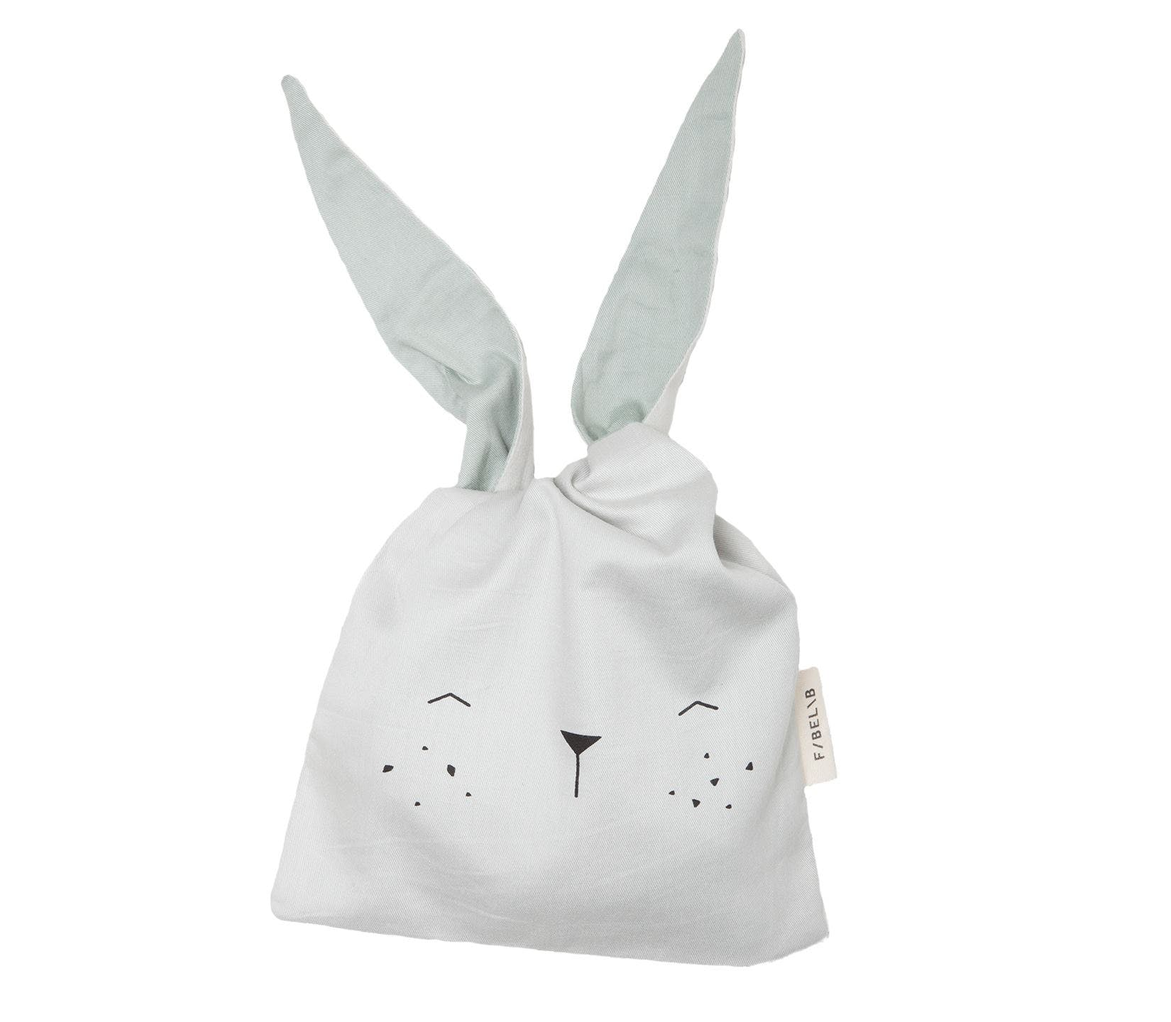 Lunch Bag Bunny Icey Grey kanintaske