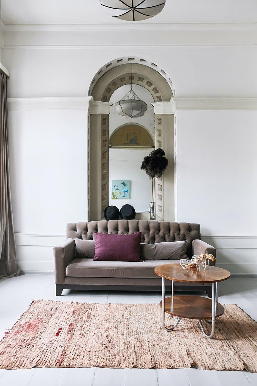 boligreportage boligindreting sofa