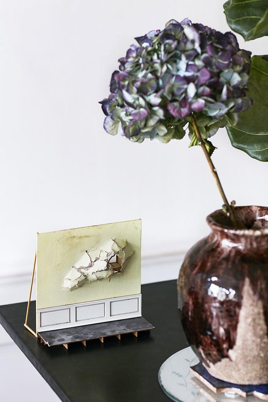 boligreportage boligindreting pynt vase