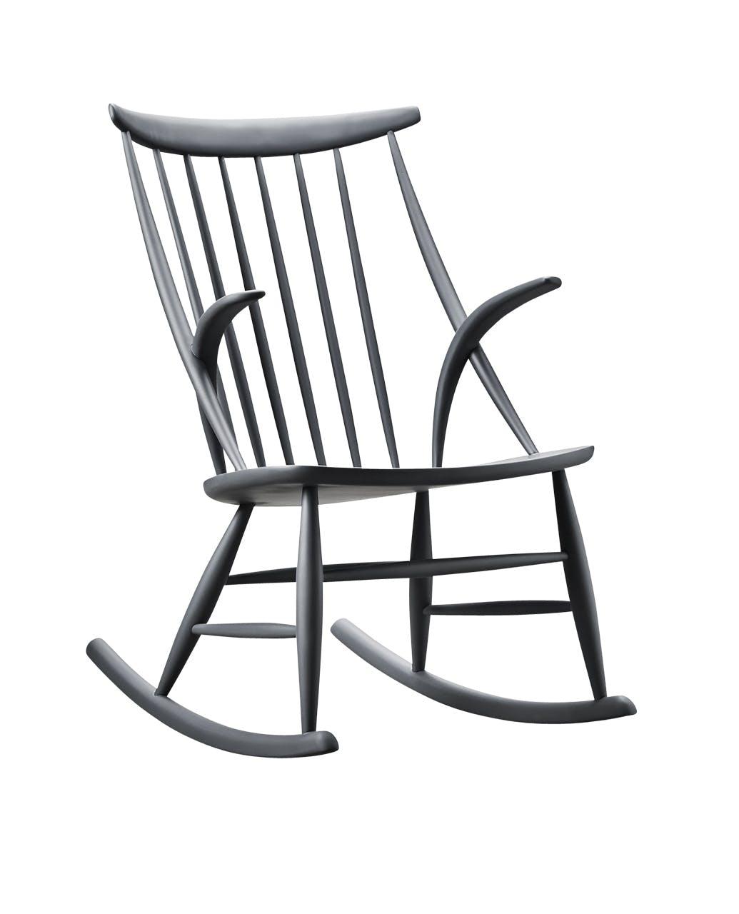 danske designere klassiker Illum gyngestol stol