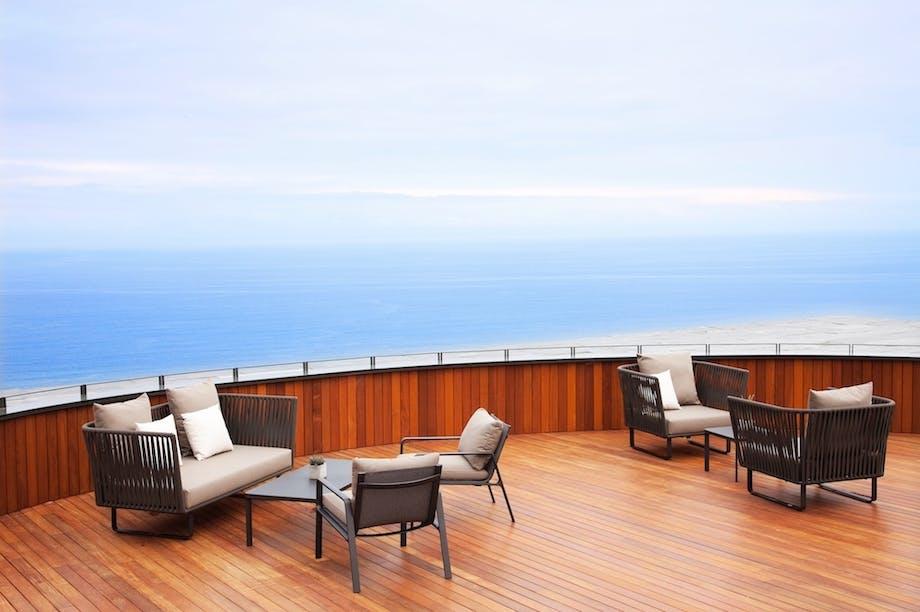 luksushotel spanien tag terrasse udsigt